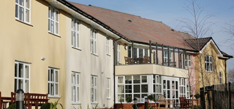 De Lucy House care home in Diss