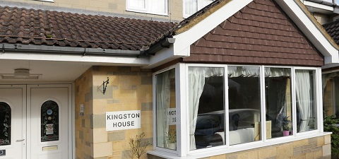 Kingston House care home in Calne