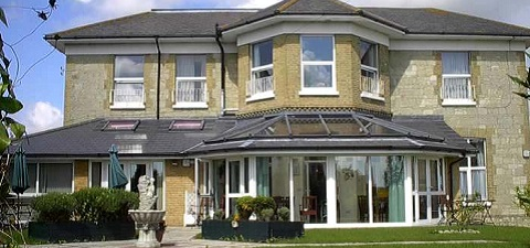 The Briars care home in Sandown on the Isle of Wight