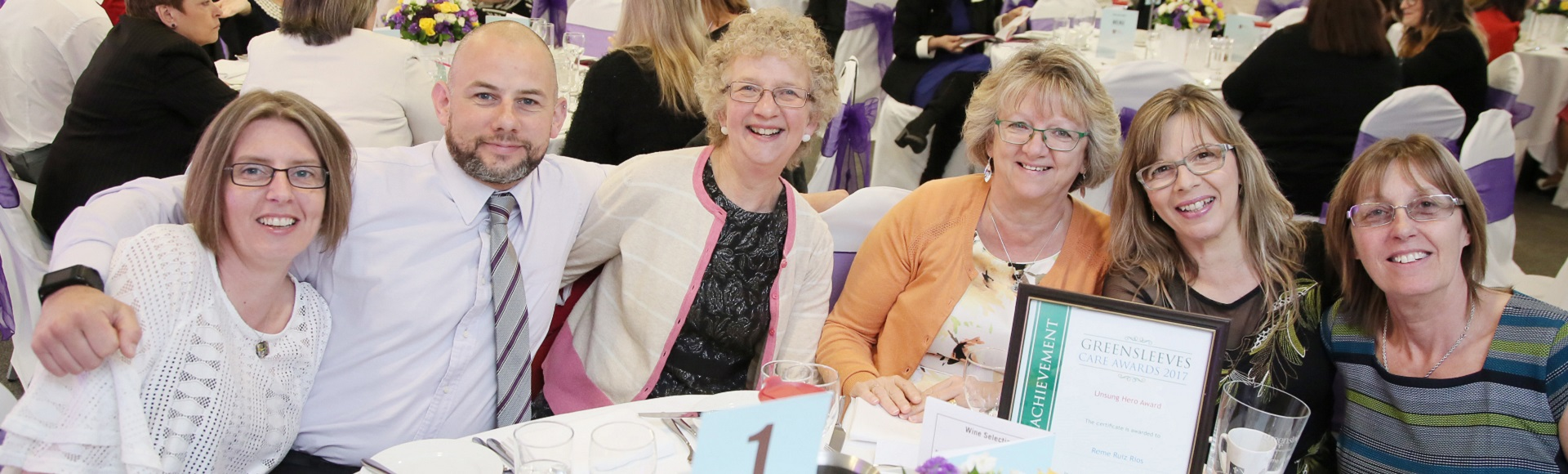 Greensleeves Care Awards - quality standards