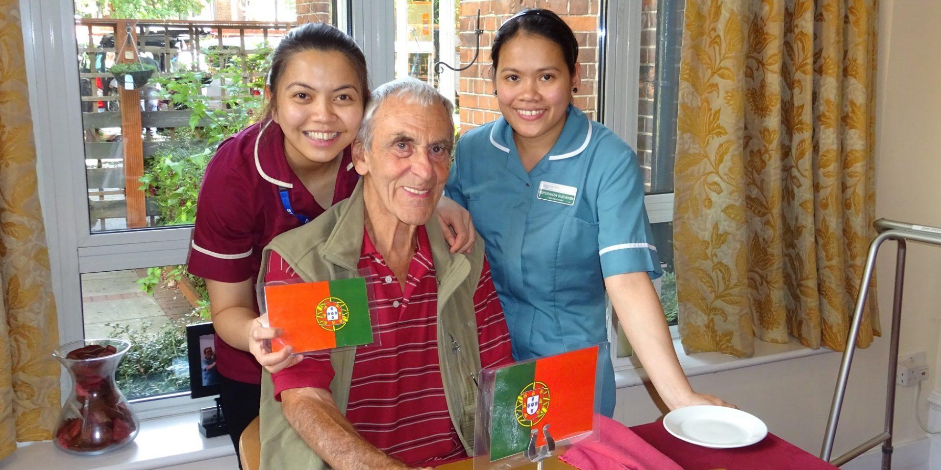 Portugal comes to Torkington House Care Home