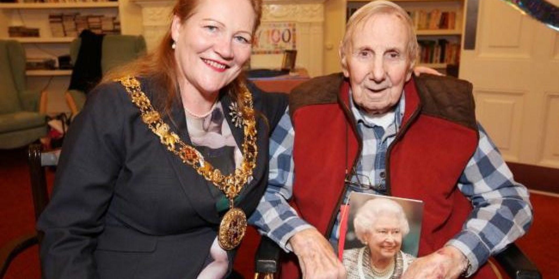 Resident at St Cross Grange Care Home celebrates 100th Birthday