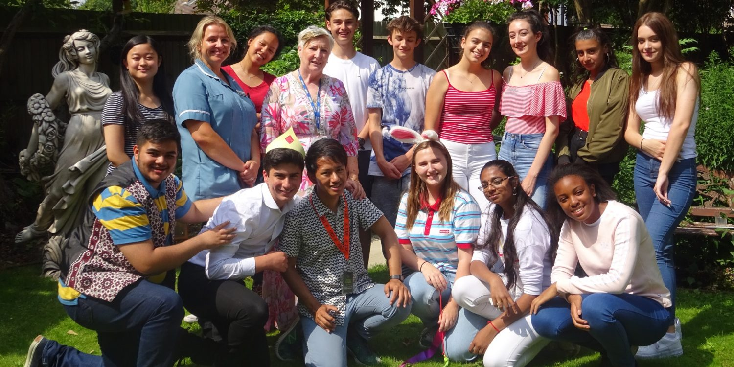 Young people in Acton inspire Torkington House Care Home residents