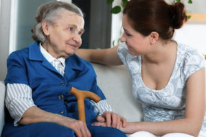 Communicating with someone who has dementia