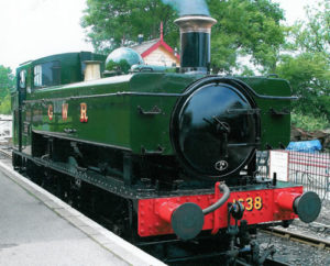 No.1638 steam locomotive