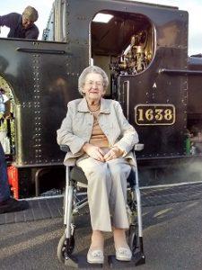 Steam train journey for Whitegates residents