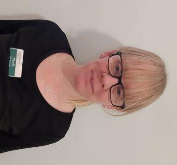 Paula Sherwood, Care Supervisor at Grosvenor House