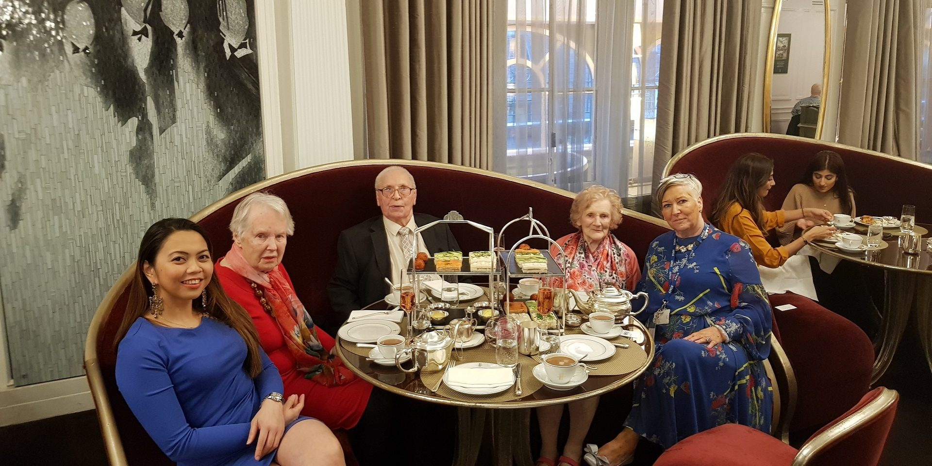 Torkington House resident gets a VIP treatment at Harrods