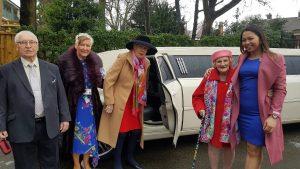 Torkington House residents get a VIP treatment