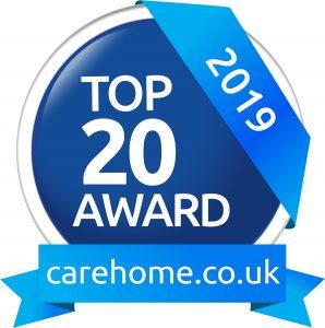 carehome.co.uk Individual Award 2019