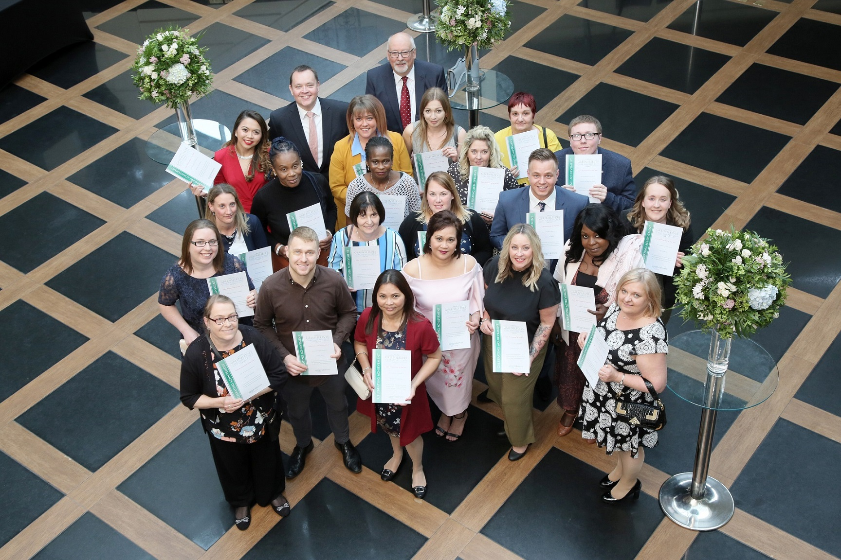 Care Professional of the Year winners