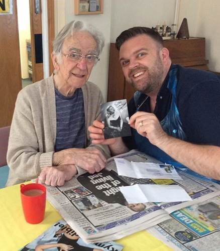 Doris Day delighted Harleston House resident