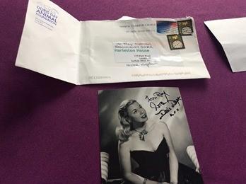 Doris Day - her last gift for Harleston House resident