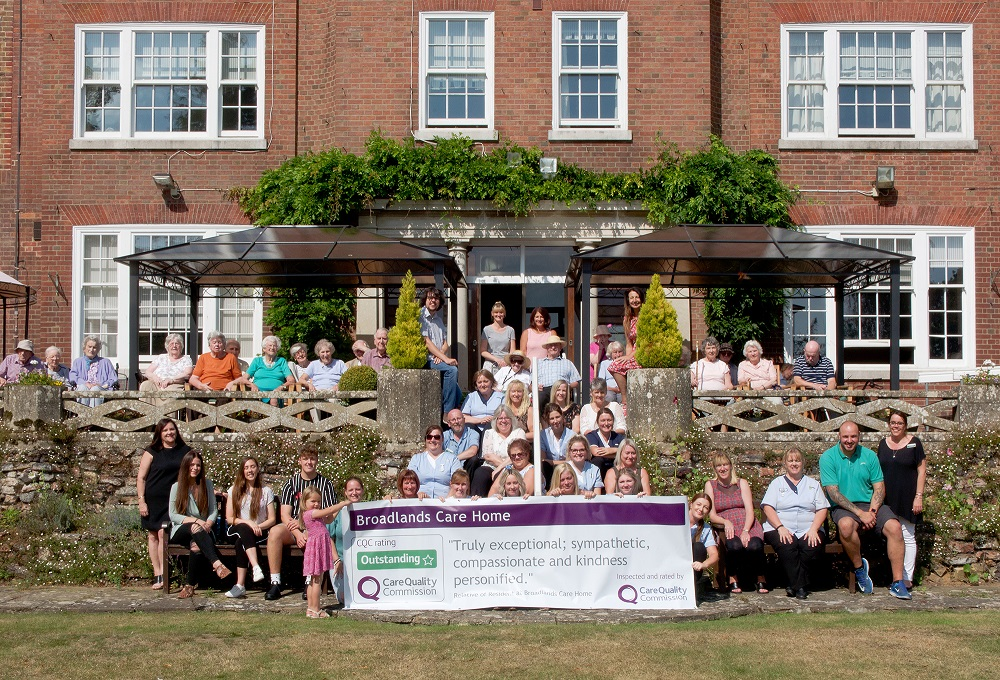 Broadlands rated Outstanding by CQC