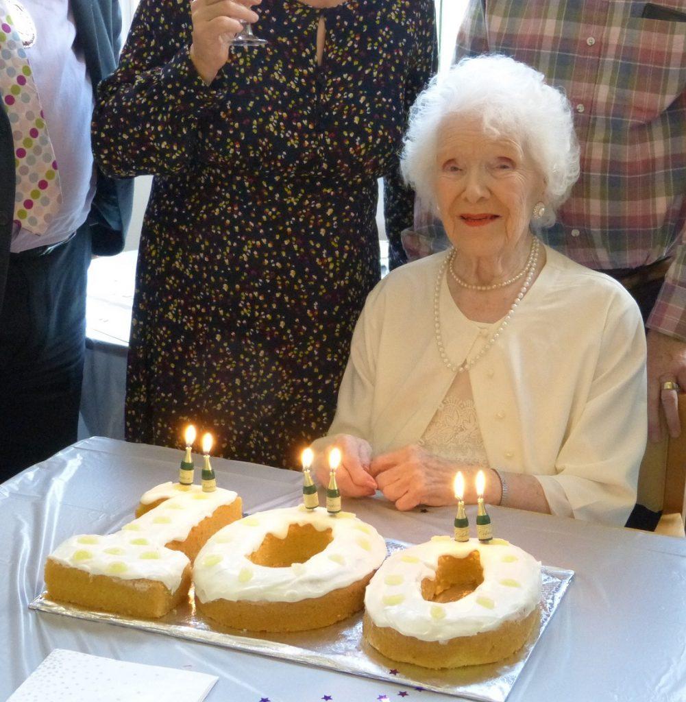 Barbara Harman celebrates 100 Birthday