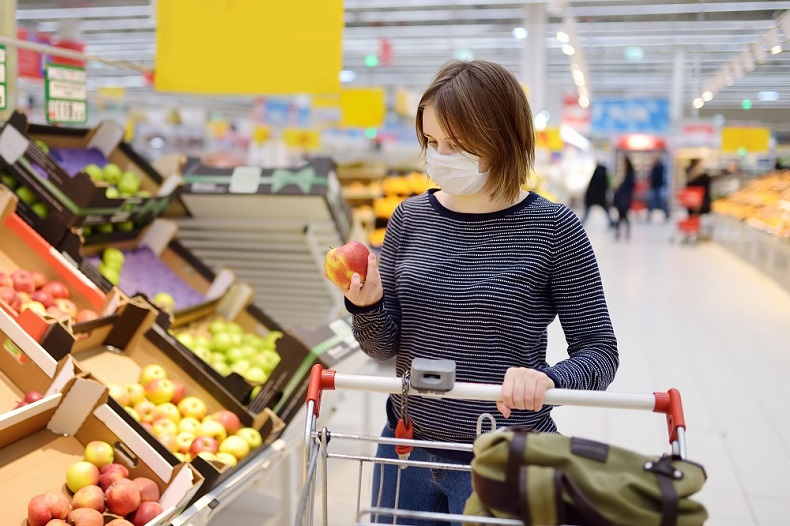 Covid - supermarket shopping