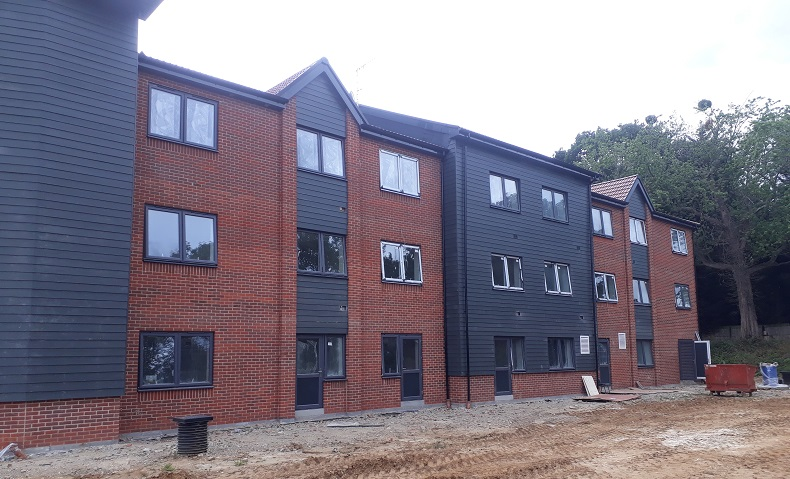 Henley House care home in Ipswich