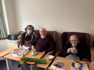 Speirs House care home visits